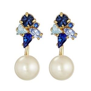 Kate Spade 2-in-1 Dainty Sparkler Earrings
